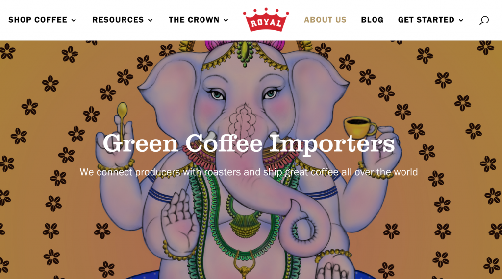 Royal Coffee is a family-owned and operated importer of specialty green coffees